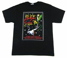 ALICE COOPER W/ SKULL & SONG TITLES BLACK T-SHIRT ADULT LARGE NEW OFFICIAL