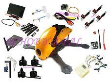 "Robocat 270mm Carbon Fiber Copter FPV AV 7"" LCD Monitor Cam Emax motor ESC CC3D"