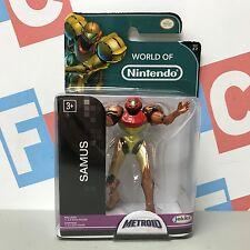 """Jakks Pacific Metroid 2.5"""" World of Nintendo World 2-2 Samus Figure"""