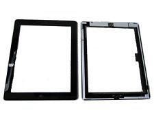 Ipad 3 Ipad3 Frontal Pantalla Táctil Digitalizador Panel Lente Boton Home Flex Negro Reino Unido