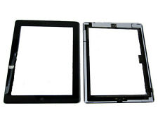 iPad 3 iPad3 Front Touch Screen Digitizer Panel Lens Home Button Flex Black UK