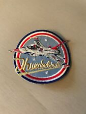 Thunderbirds patch, military patch, plane patch, Air Force patch, sew in patch