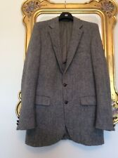Mens VINTAGE Harrison Tweed JACKET Tailored In USA Size M