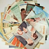 Scouting Magazine VTG All 1950's HUGE LOT of 39  (See Description) BEST OFFER