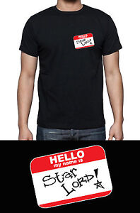 Guardians of the Galaxy Hello My Name is I AM GROOT or STAR LORD Inspired Tshirt