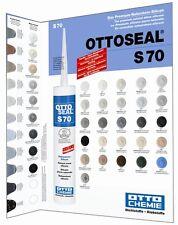 OTTOSEAL S70 Farbkarte Farbtafel für Das Premium-Naturstein-Silicon