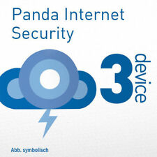 Panda Internet Security 3 PC 2018 VOLLVERSION 3 Geräte 2017 Multi Device DE EU