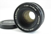 【RARE!!】Minolta C.E.Rokkor 50mm f/2.8 Lens for M39 LTM Mount from Japan #3335