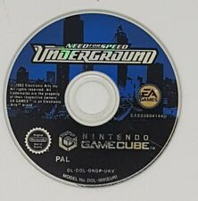 Need For Speed Underground Nintendo Gamecube Game DISC ONLY