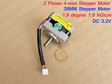 Stepper Motor 5mm Shaft 2-Phase 4-Wire For Nema CNC RepRap Prusa 3D Printer DIY
