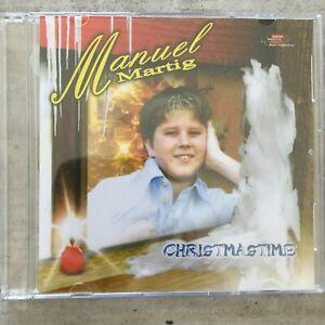 MANUEL MARTIG (Boy Singer): Christmastime (Maxi-CD swiss-austria 071 035 / OVP)