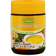 Rapunzel, Vegetable Broth, Certified Organic 4.4 oz (125 g) - Vegan
