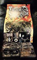 "Tumba Carcomida ""gravesoils"" Demo Tape W/poster Death Doom Black Metal Limited"