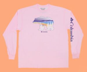 Men's COLUMBIA SPORTSWEAR Long Sleeve T-Shirt Size: L
