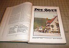 1929 & 1930 DER HARZ Harzklub Magazines 2 Year Volume Set in Hardcover Book
