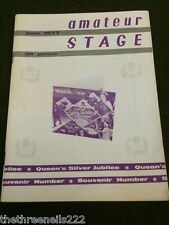 AMATEUR STAGE - THE CHARLTON PLAYERS - JUNE 1977