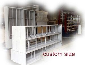 Shop Light box, Awning LightBox,1800x550x150mm, 3 row=6 lights, 2 acrylics, WHT