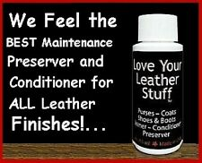 4oz LOVE YOUR LEATHER Cleaner, Conditioner & Polish,  Boot & Shoes, Coats, Sofas