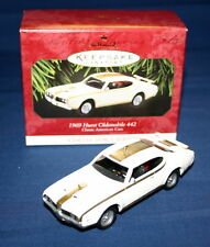 HALLMARK  ORNAMENT 1997-1969 HURST OLDSMOBILE 442  # 7  CLASSIC AMERICAN CARS