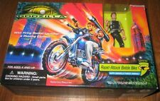 1995 Trendmasters Godzilla RAPID-ATTACK Battle Bike FIGURE SEALED SHARP MIB 100%