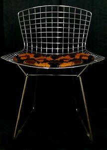 Chaise de Collection Side Chair Design Harry Bertoia Pour knoll Ans 70 Vintage