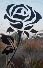 Rose Flower vinyl decal sticker approx 9cmx15cm window sticker, car sticker