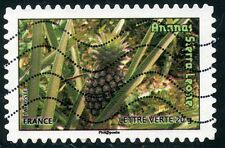 TIMBRE FRANCE AUTOADHESIF OBLITERE N° 686 / FLORE / FRUIT / ANANAS