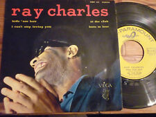 """EP 45 TOURS RAY CHARLES """"Hide 'nor Hair / At The Club"""