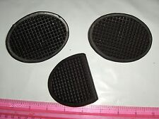 Harley Knucklehead,Panhead,Flathead Foot Clutch & Brake Pedal Pad Set..