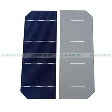 """100PCS 6""""x2"""" 180W High Efficiency Mono Solar Cell for DIY Solar Kit Power Charge"""