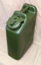 NEW 5 Gallon (20L) Military Water Can, BPA Free, Green, Jerry Can, Milspec