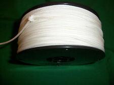 350' 100% NYLON BRAIDED ROPE CORD STRING 2.0mm  WHITE