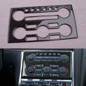 Carbon Fiber Dashboard Panel Cover Trim Sticker Fit for Nissan GTR R35
