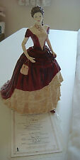 ROYAL DOULTON LADY OF THE YEAR 2010 FIGURINE-AVA-HN 5400+CERTIFICATE