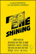 """Jack Nicholson Signed Poster The Shining 1980 Autographed 27""""x41"""" Fine 6.5"""