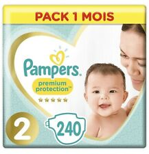 Couches Bebe Taille 2 (4-8 kg) Pack 1 mois (x 240 Couches)
