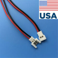 20 Pairs For Walkera Battery 2-Pin Connector Male&Female with wire USA