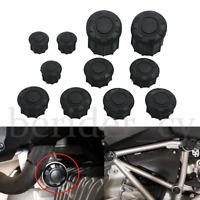 11X Frame Hole Cover Caps Plug Decor For BMW R1200R 2015-2019 Frame Cap Set