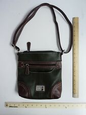 39f5b723894d Womens STONE Mountain Hunter Green Brown Satchel Purse Lady Hand Bag Style  Tote