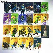 24Pcs Zelda For Amiibo NFC Cards For Legend Of Zelda BOTW Leather Cover Package
