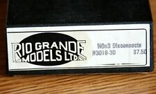 Logging Disconnects Rio Grande Models Kit 3018 Rare HOn3