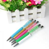 Crystal Touch Screen Pen Stylus 2in 1For IPhone IPad Ipod Samsung Tablet