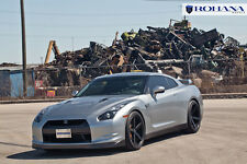 20x9 20x11 +10 Rohana RC22 5x114.3 Black Wheel Fit Nissan GTR R35 2010 Staggered