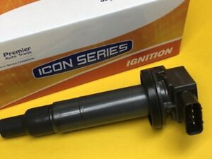 Ignition coil for Toyota NHP10 PRIUS-C 1.5L 12-on 1NZFXE 2 Yr Wty