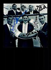 Deutsche WM Mannschaft 1958 Foto 5x Original Sign+A 150530