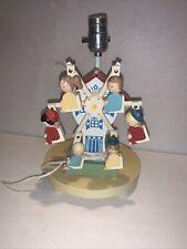 Vintage Nursery Originals Child's Lamp - Dutch Ferris Wheel - Musical - 1976