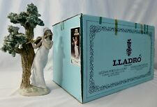 Lladro MUSICAL MUSE Young Girl + Flute by ANTONIO RAMOS. #5651. BOX. MINT.1989
