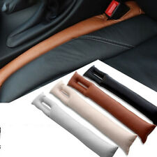 2pcs Car Seat Gap Filler Pu Leather Auto Parts Accessories For Universal