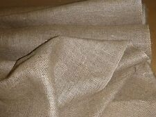 """UPHOLSTERY HESSIAN 40"""" 10 OZ 5 METERS UPHOLSTERY SUPPLIES"""