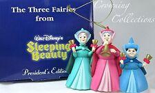 Grolier Three Fairies from Sleeping Beauty President's Edition Ornament Disney 3
